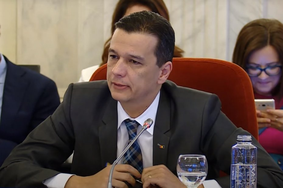 Sorin Grindeanu, prim vicepreședinte PSD